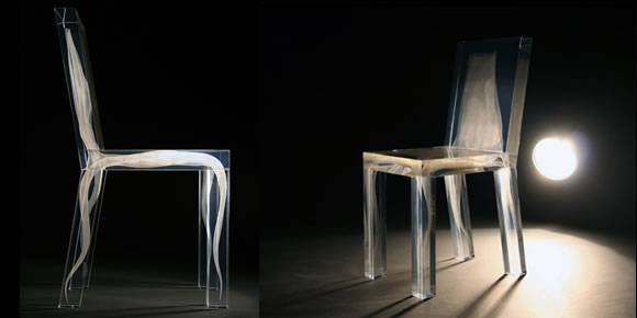 Ghost Chair - Ralph Nauta en Lonneke Gordijn van Studio Drift