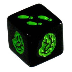 Zombie Dice - groene dobbelsteen
