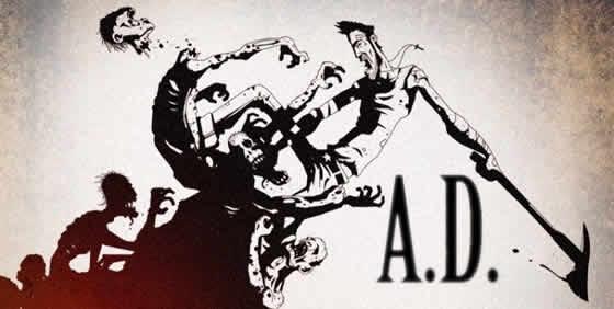 A-D zombie animatiefilm