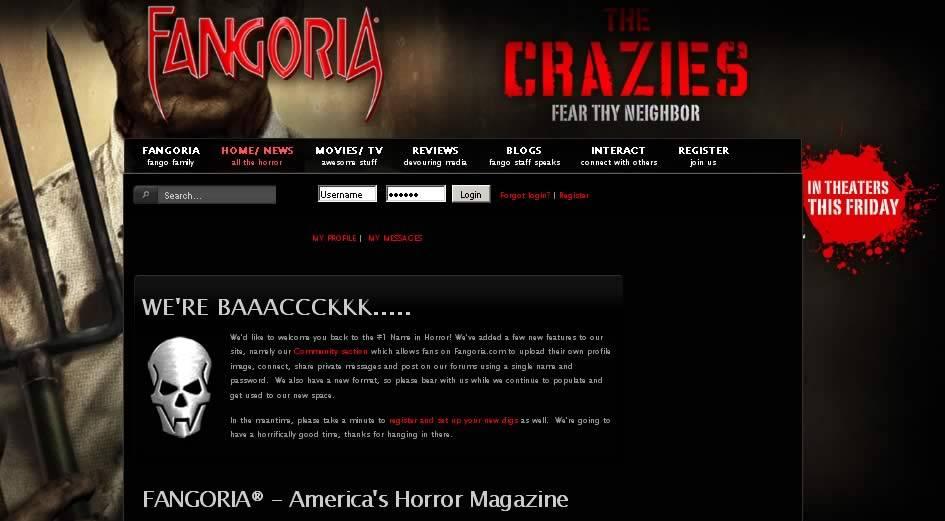 fangoria website