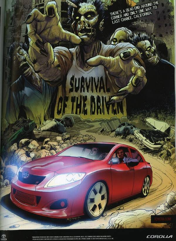 Toyota - Survival of the Driven