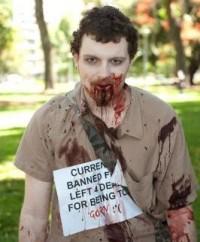 Australië - Zombies protest