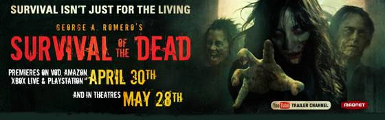 Survival of the Dead - George A. Romero