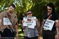 Zombie protest Austalië