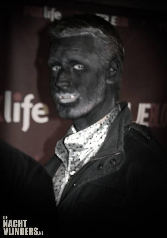 zwarte vampier