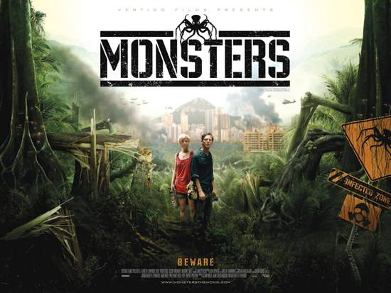 Poster Monsters - Gareth-Edwards