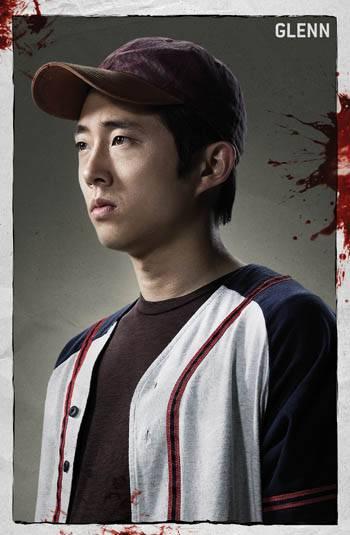 Glenn (Steven Yeun) - Walking Dead