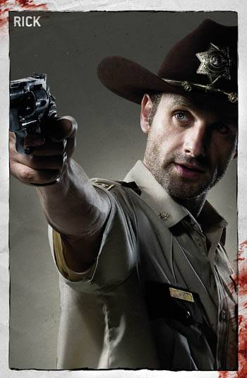 Rick Grimes (Andrew Lincoln) - Walking Dead