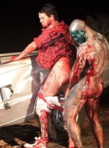 la zombie homo porno