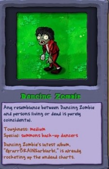 Michael Jackson - Plants vs. Zombies