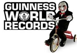 saw - guinness world records