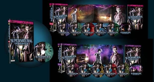 supernatural animation dvd