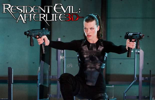Alice (Milla Jovovich) - Resident Evil Afterlife 3D