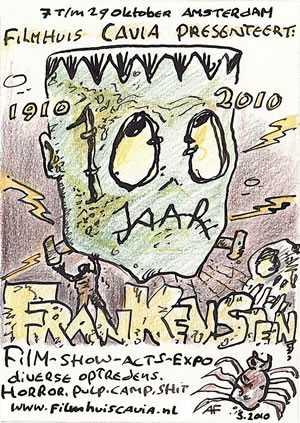 Frankenstein Festival in Filmhuis Cavia