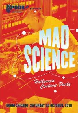 Amsterdam Halloween Festival: Mad Science!