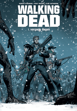 Walking Dead - Vergane Dagen Cover