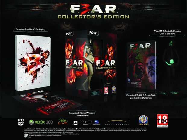 FEAR3 COLLECTORS EDITION