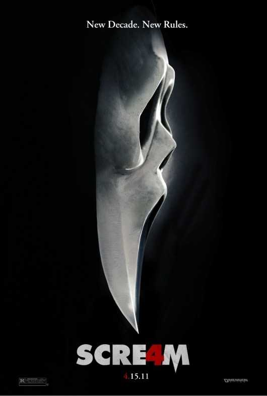 Ghostface Poster Scream 4