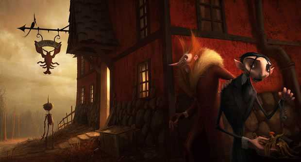 Pinokkio artwork