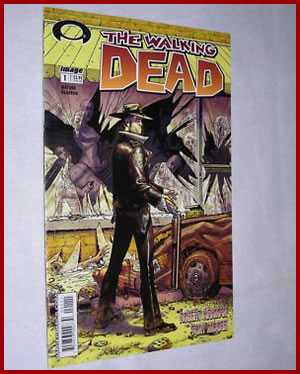 the walking dead comic - first issue