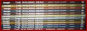 the walking dead comic - volumes