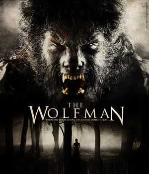 The Wolfman poster 2010