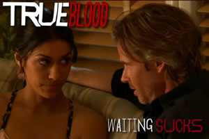 true blood - waiting sucks sam & luna