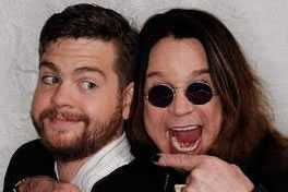 Ozzy en Jack Osbourne