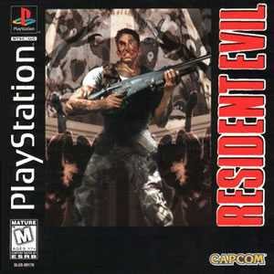 Resident Evil 1 Playstation 1 Game
