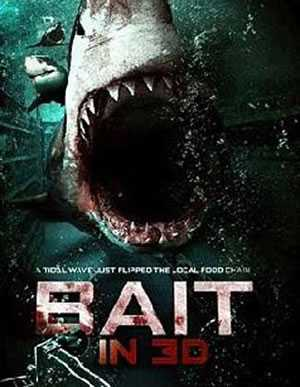 Bait in 3D poster