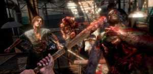 Honkbalknuppel en zombies!
