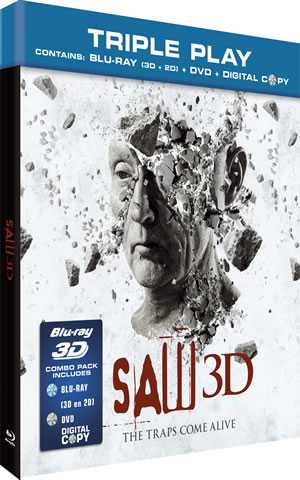 SAW 3D Blu-ray + DVD