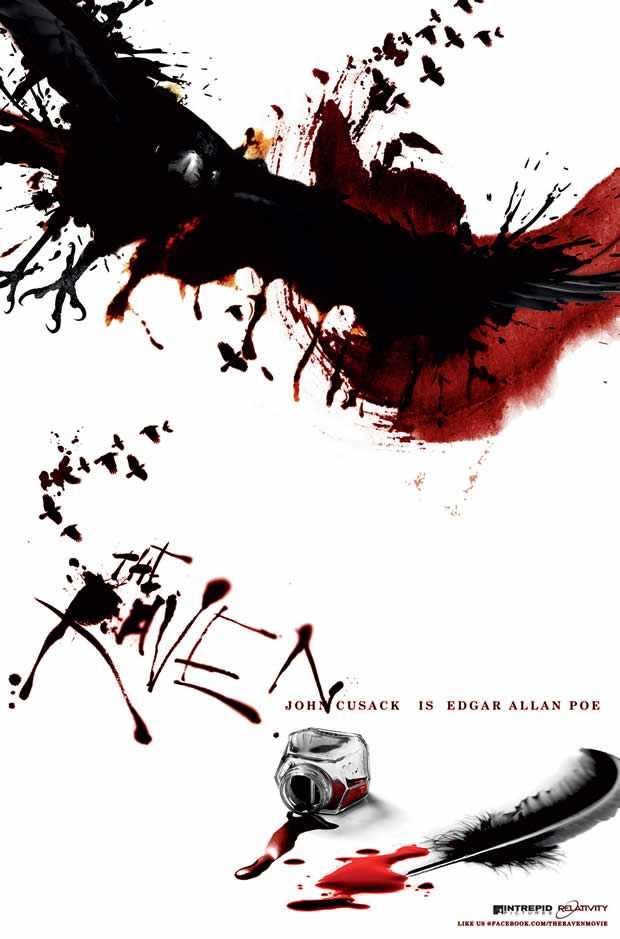 Teaser poster The Raven