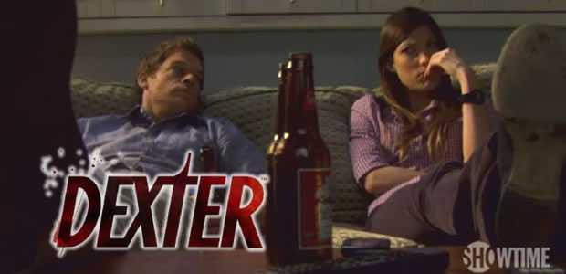 Debra en Dexter Morgan