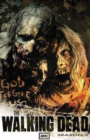 Poster The Walking Dead season 2