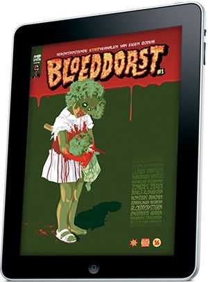 horrorcomics bloeddorst ipad
