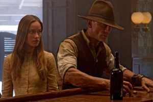 Olivia Wilde en Daniel Craig