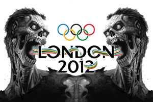 zombie olympics 2012 london film