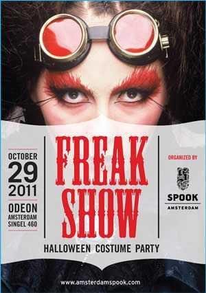 Amsterdam Halloween Freakshow 2011