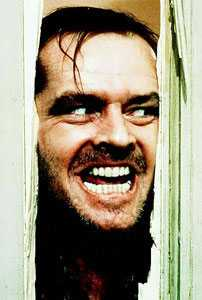 Jack Nicholson als Jack Torrance in The Shining