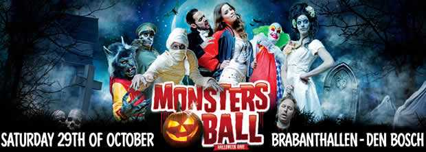 Halloween monsters ball den bosch