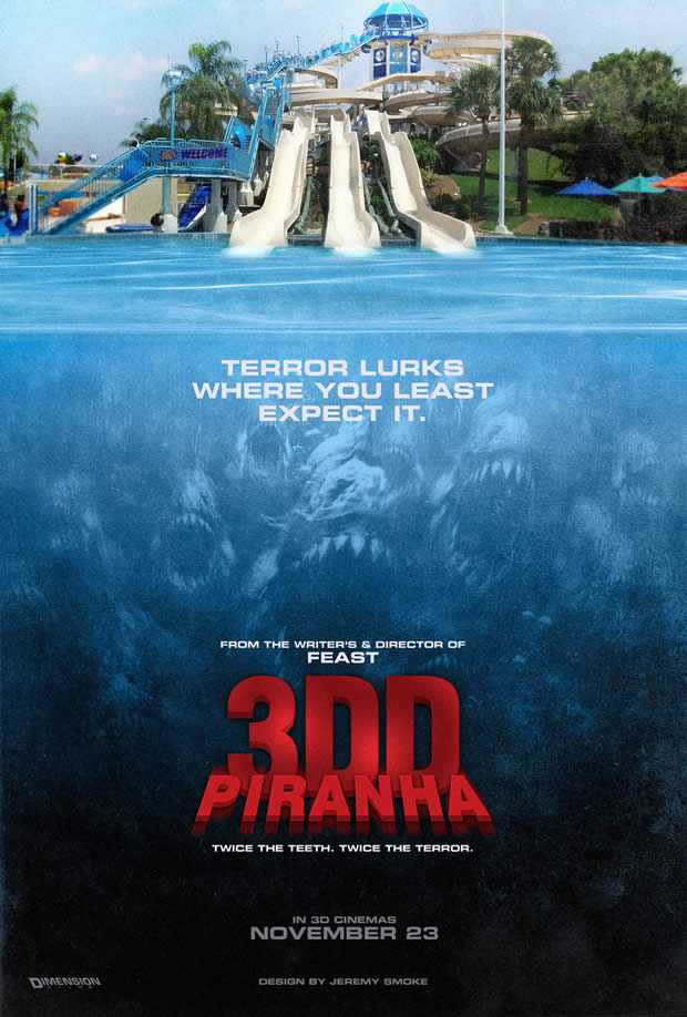 Piranha 3DD - Terror Lurks Where You Least Expect It