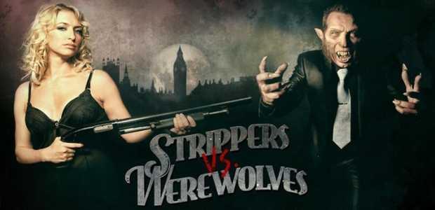 Poster van Strippers vs. Werewolves