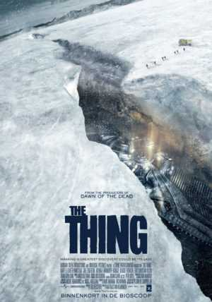 the thing prequel poster