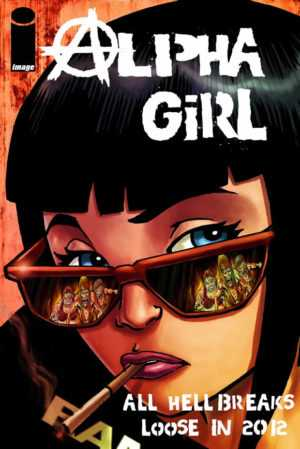 Comic Alpha Girl