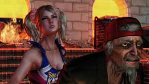 lollipop chainsaw: Julliet en Morikawa