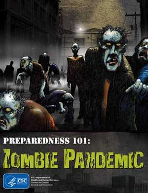 CDCD Zombie Comic