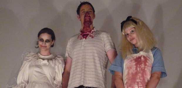 Halloween Horror Show Bruid Zipperface en Alice