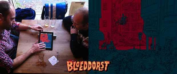 Maarten en Maarten werken aan de Bloeddorst App