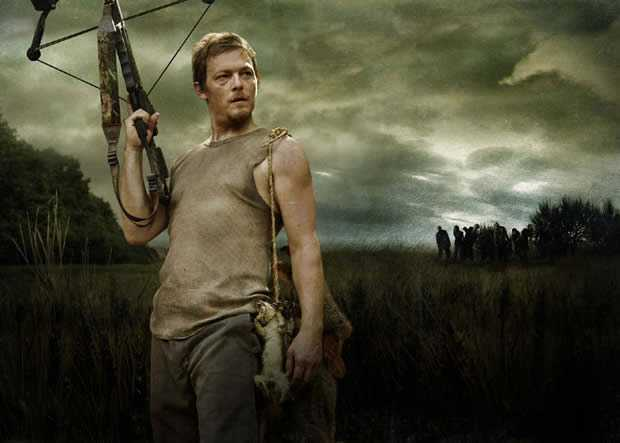 Norman Reedus is Daryl Dixon in The Walking Dead